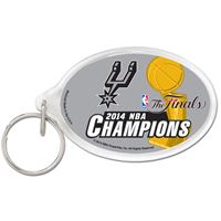 Picture of San Antonio Spurs Acrylic Key Ring Carded Oval