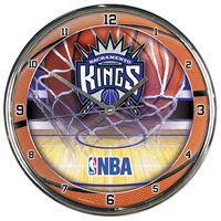 Picture of Sacramento Kings Chrome Clock