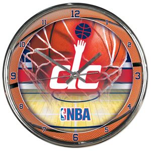 Picture of Washington Wizards Chrome Clock
