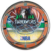 Picture of Minnesota Timberwolves Chrome Clock