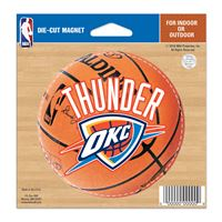 "Picture of Oklahoma City Thunder Die Cut Magnet 45"" x 6"""