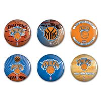 "Picture of New York Knicks Button 6 Pack 2"" Round"