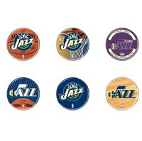 "Picture of Utah Jazz Button 6 Pack 2"" Round"