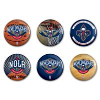 "Picture of New Orleans Pelicans Button 6 Pack 2"" Round"