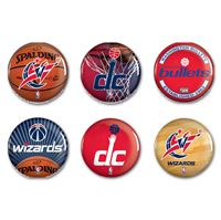 "Picture of Washington Wizards Button 6 Pack 2"" Round"