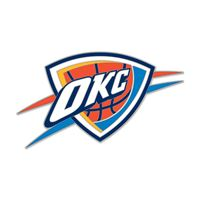Picture of Oklahoma City Thunder Collector Pin Jewelry Card