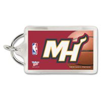 Picture of Miami Heat Acrylic Key Ring Carded Rectangle