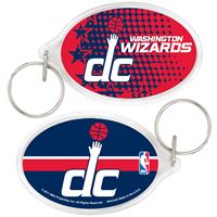 Picture of Washington Wizards Acrylic Key Ring Carded Oval