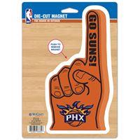 "Picture of Phoenix Suns Die Cut Logo Magnet 625"" x 9"""