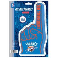 "Picture of Oklahoma City Thunder Die Cut Logo Magnet 625"" x 9"""
