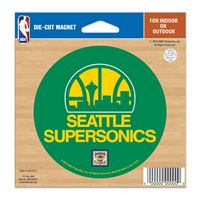 """Picture of Oklahoma City Thunder Die Cut Magnet 45"""" x 6"""""""