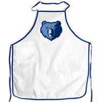 Picture of Memphis Grizzlies Barbeque Aprons - white