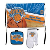 Picture of New York Knicks Barbeque Tailgate Set-Premium