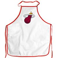 Picture of Miami Heat Barbeque Aprons - white