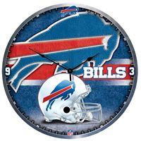 "Picture of Buffalo Bills Plaque HD Clock 18"" Dia"