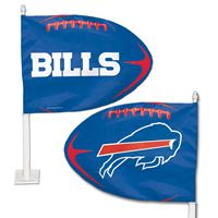 Picture of Buffalo Bills Shaped Car Flag