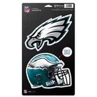 """Picture of Philadelphia Eagles 2 Pack Magnets 5"""" x 9"""""""