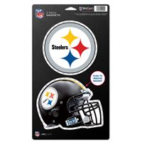 "Picture of Pittsburgh Steelers 2 Pack Magnets 5"" x 9"""