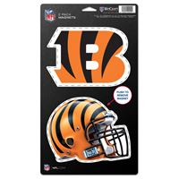 "Picture of Cincinnati Bengals 2 Pack Magnets 5"" x 9"""