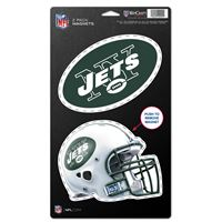 """Picture of New York Jets 2 Pack Magnets 5"""" x 9"""""""