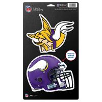 """Picture of Minnesota Vikings 2 Pack Magnets 5"""" x 9"""""""