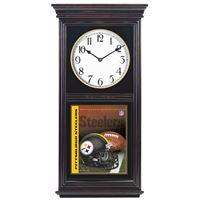 Picture of Pittsburgh Steelers Regulator Clock