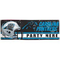 Picture of Carolina Panthers Vinyl Banner 2' x 6'