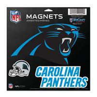 """Picture of Carolina Panthers Vinyl Magnet 11"""" x 11"""""""