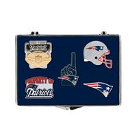 Picture of New England Patriots 5 pc Pin Set