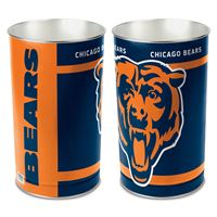 """Picture of Chicago Bears Wastebasket - tapered 15""""H"""