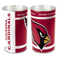 """Picture of Arizona Cardinals Wastebasket - tapered 15""""H"""