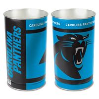 "Picture of Carolina Panthers Wastebasket - tapered 15""H"