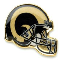 Picture of St Louis Rams Plated Pins Bulk