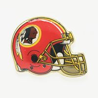 Picture of Washington Redskins Plated Pins Bulk