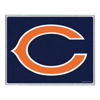 "Picture of Chicago Bears Glass Cutting Board 7"" x 9"""