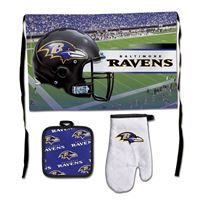 Picture of Baltimore Ravens Barbeque Tailgate Set-Premium
