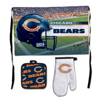 Picture of Chicago Bears Barbeque Tailgate Set-Premium
