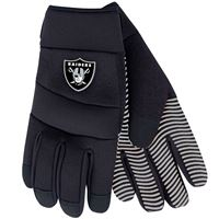 Picture of Oakland Raiders Adult Work Gloves