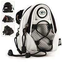 Picture of Green Bay Packers Mini Day Pack White