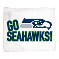 "Picture of Seattle Seahawks Rally Towel 15"" x 18"""