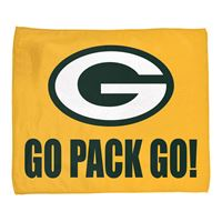 "Picture of Green Bay Packers Rally Towel 15"" x 18"""