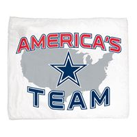 "Picture of Dallas Cowboys Rally Towel 15"" x 18"""