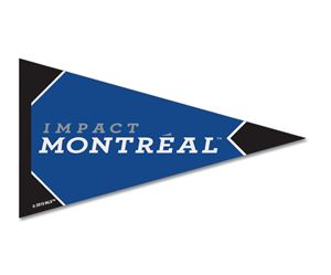 """Picture of Impact Montreal Felt Pennant Magnet 25"""" x 425"""""""