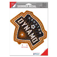 "Picture of Houston Dynamo Shimmer Decals 5"" x 7"""