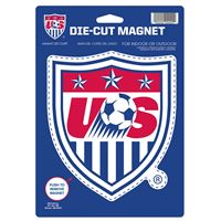 "Picture of US Soccer - National Team Die Cut Logo Magnet 625"" x 9"""