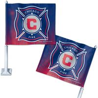 """Picture of Chicago Fire Car Flag 1175"""" x 14"""""""