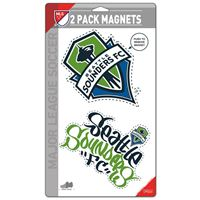 "Picture of Seattle Sounders 2 Pack Magnets 5"" x 9"""