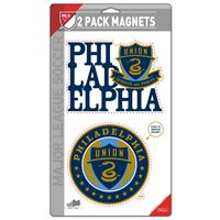 "Picture of Philadelphia Union 2 Pack Magnets 5"" x 9"""