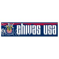 "Picture of MLS Chivas USA Bumper Strip 3"" x 12"""