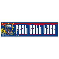 "Picture of Real Salt Lake Bumper Strip 3"" x 12"""